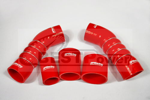 SILICONE TURBO HOSE BLUE FOR 09up Audi TT RS / RS3 MK2 red