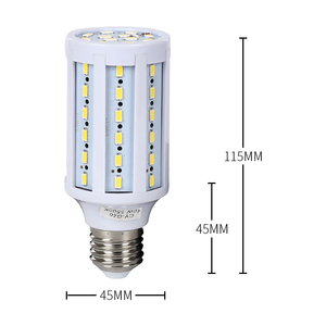 Image 2 - 写真 4 個E27 の 20 ワットledトウモロコシ電球 110 240v 5500 18kホワイト & 黄色光昼光ランプ写真撮影の照明