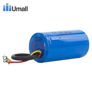Image 2 - Condensateur de démarrage pour moteur électrique, 200uF, 250V AC, CD60, compresseurs dair, deux fils rouge, jaune