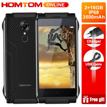 HOMTOM HT20 IP68 Waterproof Smartphone 4.7 Inch Android 6.0 MTK6737 Quad Core 3500mah 8.0MP Mobile PhoneFingerprint ID Cellphone(China)