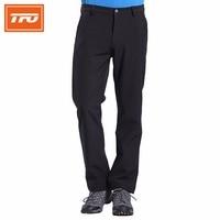 TFO Softshell Pants Men Winter Breathable Sport Pan Windproof Rock Climbing Ski Trousers Softshell Fleece Pants 772502