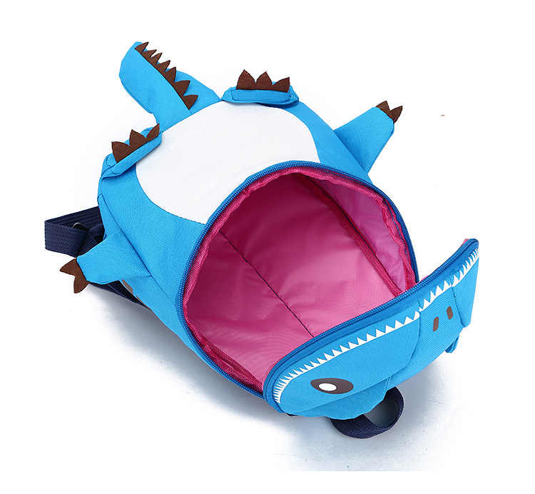 1e82c564bb03 3D Dinosaur Backpack For Boys Children backpacks kids kindergarten Small  SchoolBag Girls Cute animal prints Travel bags rucksack