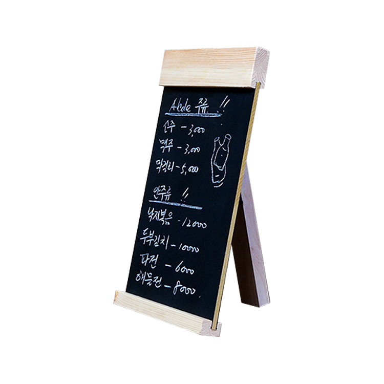 Desktop Message Blackboard Wood Easel Chalkboard Wooden Memo Black Board Collapsible Writing Boards Countertop Menu Billboard writing