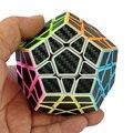 2017 Новые Углеродного Волокна Magic Cube Наклейки Гладкой Додекаэдр Головоломка Куб Скорость Cubo Образовательные Игрушки Подарок-48