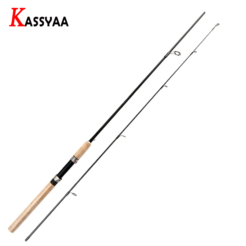 KASSYAA Carbon Spinning Fishing Rod 1.8m 2.1m 2.4m 2.7m 3m Superhard Tackle Lure Rods Fishing Pole 2 Sections Feeder For Fishing-in Fishing Rods from Sports & Entertainment