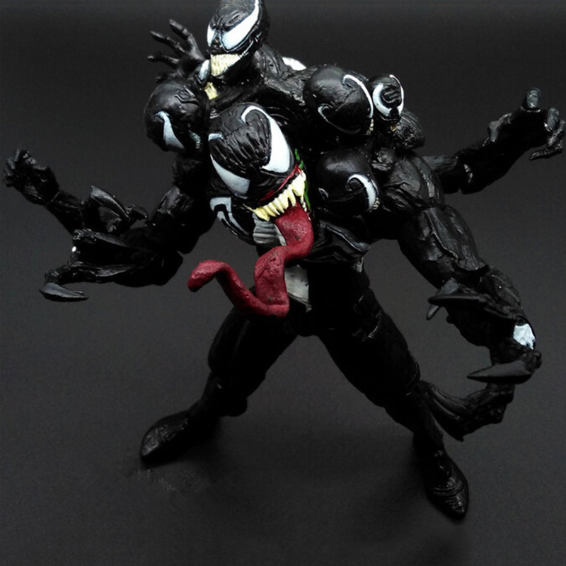 Anime Super hero Venom Ultron PVC Action Figure Can Moved Model Toys Spider Man Action Figure Venom Spride Collection Model wvw 18cm hot sale movie hero spider man venom play arts model pvc toy action figure decoration for collection gift