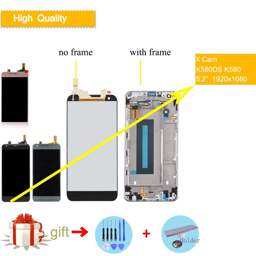 ЖК-дисплей для LG X Cam Экран Touch Дисплей ЖК-дисплей планшета Запчасти для авто K580DS K580I K580Y K580 для LG X CAM оригинальный дисплей