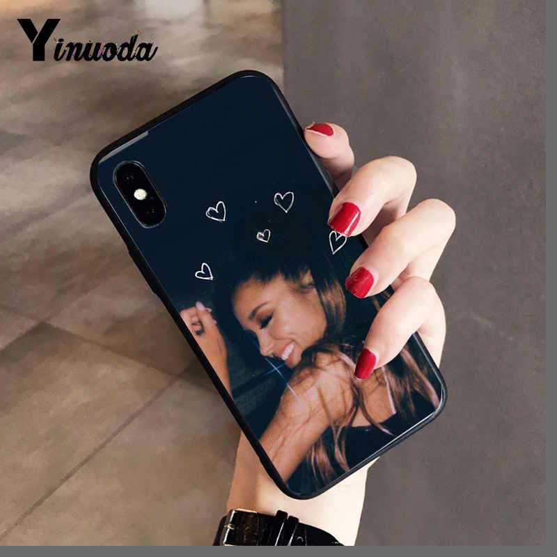Yinuoda ขอบคุณ U ถัดไป Ariana Grande สีสันน่ารักสำหรับ iPhone 8 7 6 6S 6Plus 5 5S SE XR X XS MAX Coque Shell