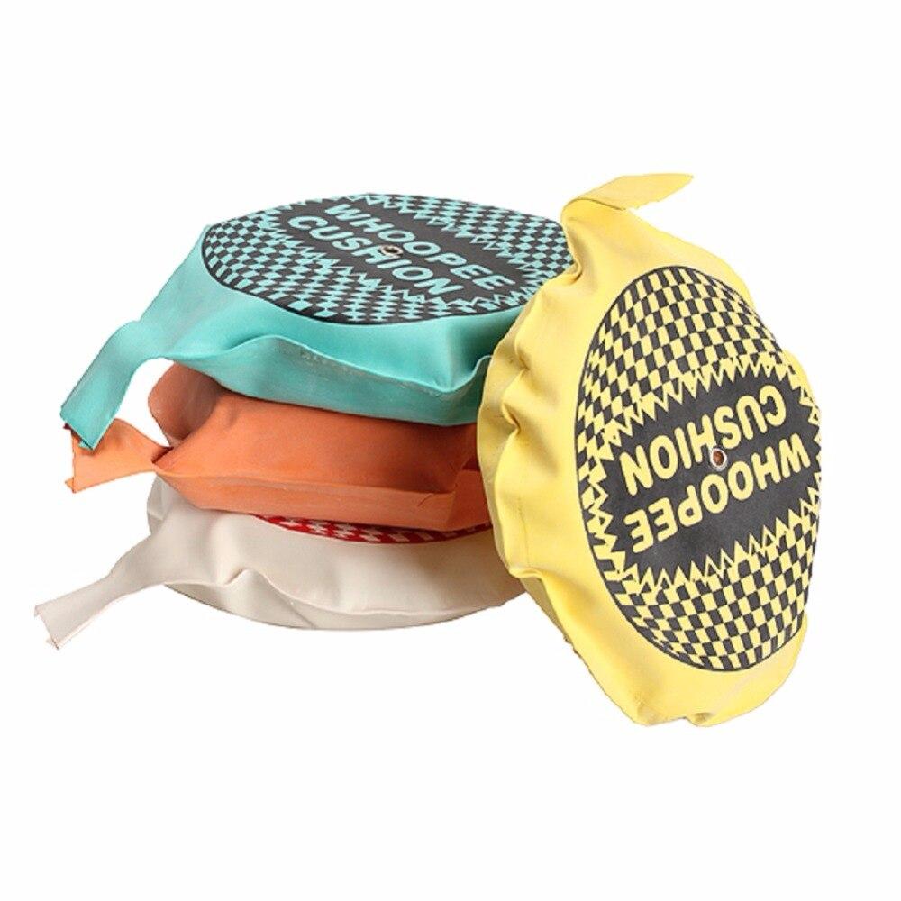 1Pcs Whoopee Cushion Jokes Gags Pranks Maker Trick Cushion Funny Toy Fart Sound Pad Random Color