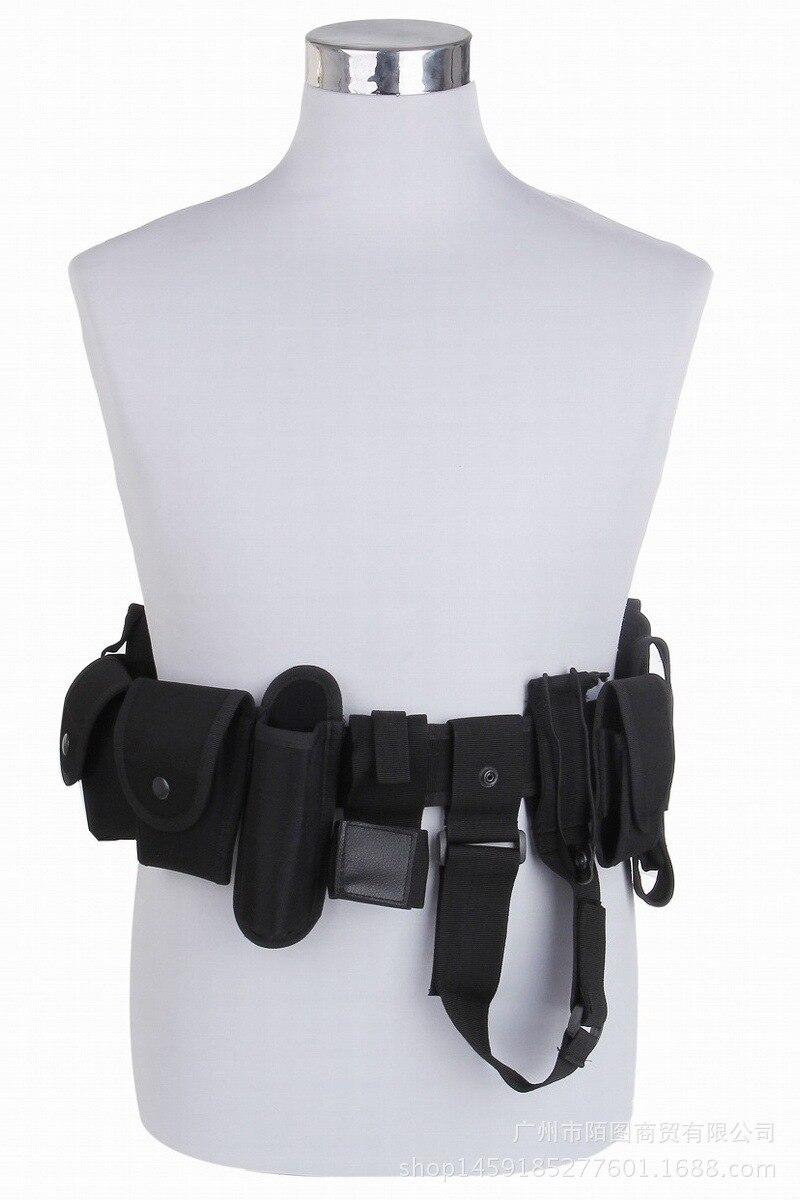 Multifunctional tactical ten piece belt training equipment waist outdoor CS