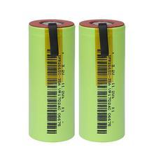 IFR 26650 35A LiFePo4 3500mAh 3.2V סוללה נטענת 10 קצב פריקה עם מתאים + DIY ניקל גיליונות עבור E  סיגריות