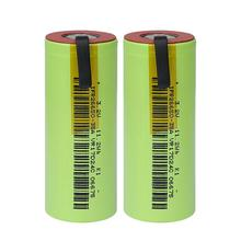 IFR 26650 35A LiFePo4 3500mAh 3.2V rechargeable battery 10 rate discharge with suitable +DIY Nickel sheets for E cigarette