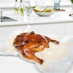Image 4 - YTK 3 롤 25cm * 500cm 주방 음식 진공 봉지 진공 실러 식품 보관 가방 신선한 긴 유지