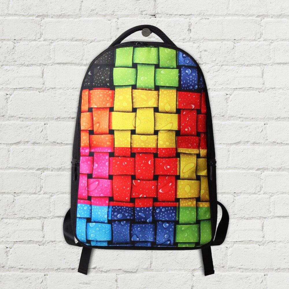 Dispalang Animal impression ordinateur sacs à dos mignon hibou sacs d'école pour adolescents collège étudiants ordinateur portable sac à bandoulière Mochila - 5