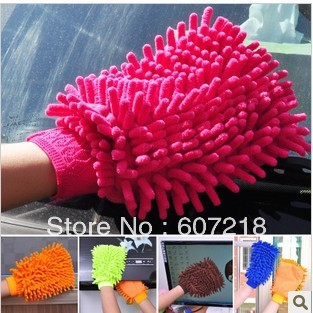 Superfine fibre snow Neil gloves type multi-purpose dishcloth clean gloves A680