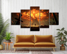 World of Warcraft Game Decor Painting HD Printed Picture Paintings Canvas Wall Art Home