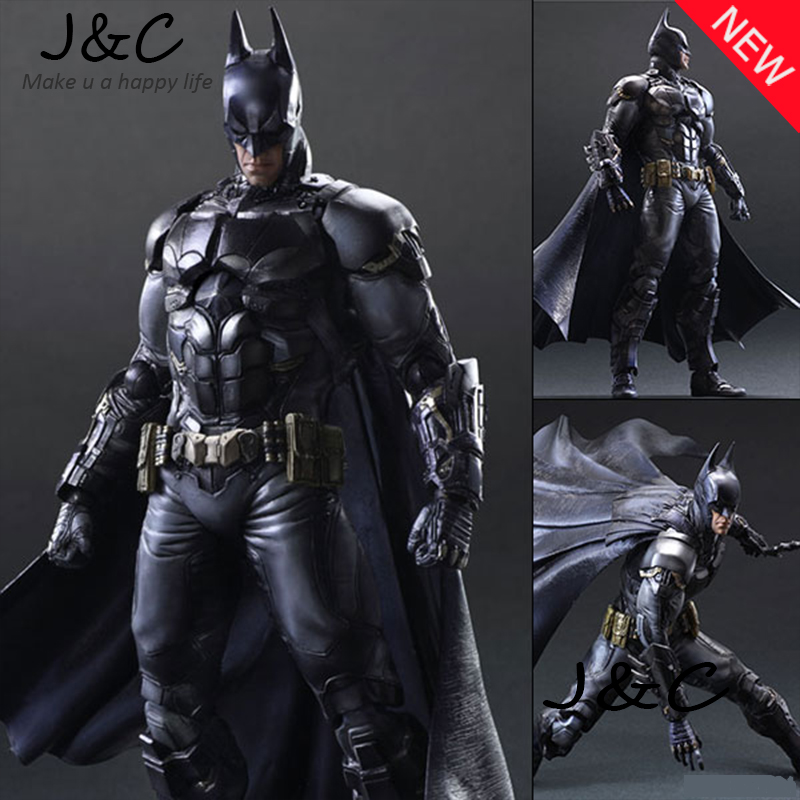 Hot Batman Action Figure Movie Cartoon Bat-Man SHF 27cm PVC Model Collect Anime Model Toys Juguetes kids toys game figure 10cm darius the hand of noxus pvc action figure kids model toys collectible games cartoon juguetes brinquedos hot
