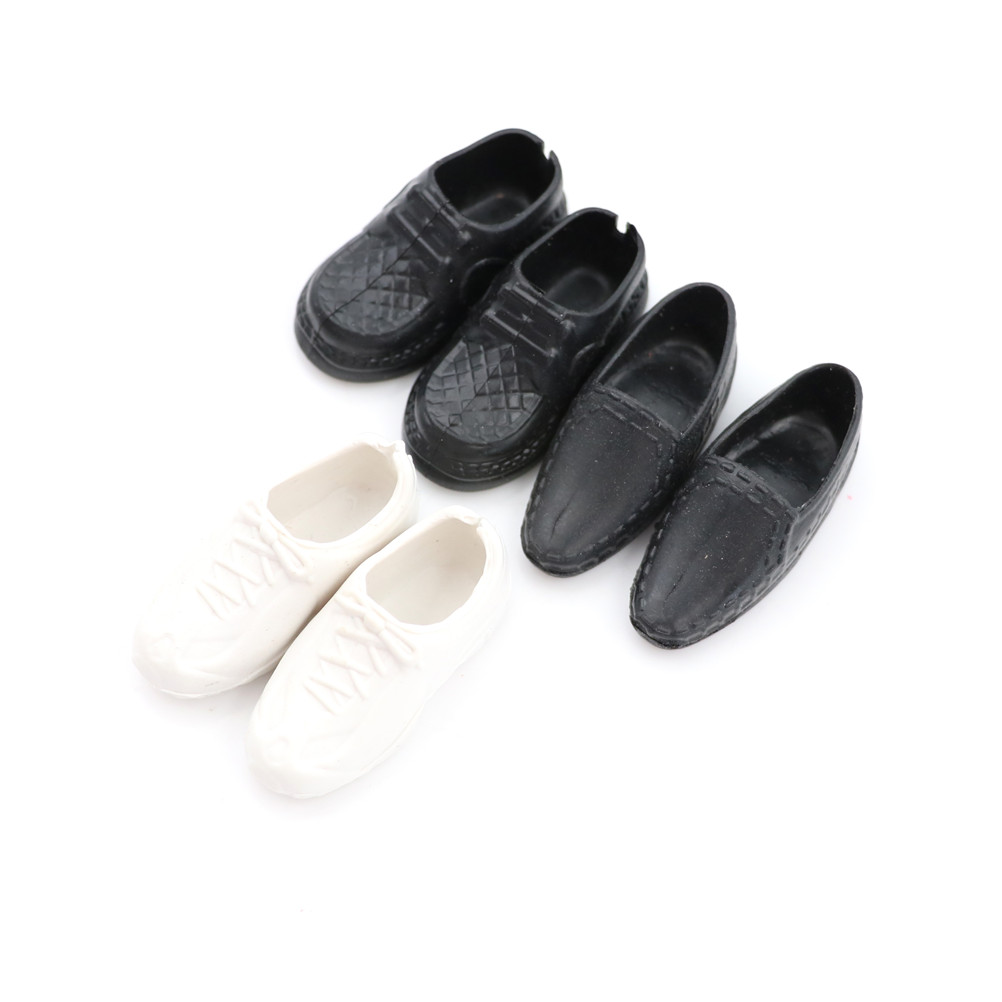 4Pairs//Set Dolls Cusp Shoes Sneakers Knee High Boots for  Boyfriend Ken HI