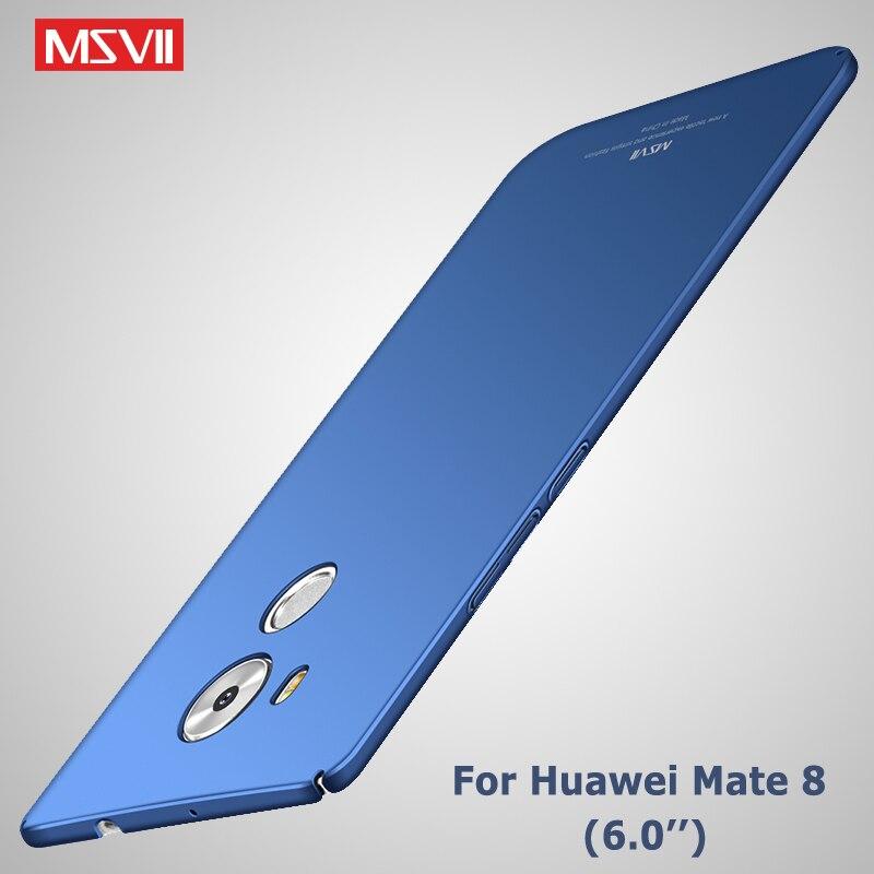 Huawei Mate 8 Fall Abdeckung Msvii Marke Luxus Ultra Thin Voll Körper Coque Mate 8 Fall Harte Pc Zurück Abdeckung Für Huawei Mate8 Fall 6,0 Handys & Telekommunikation Angepasste Hüllen