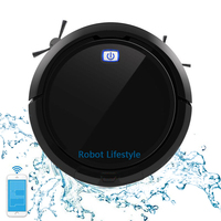 home automatic sweeping dust sterilize smart planned mobile APP robot vacuum cleaner aspiradora remote control cleaning cleaner