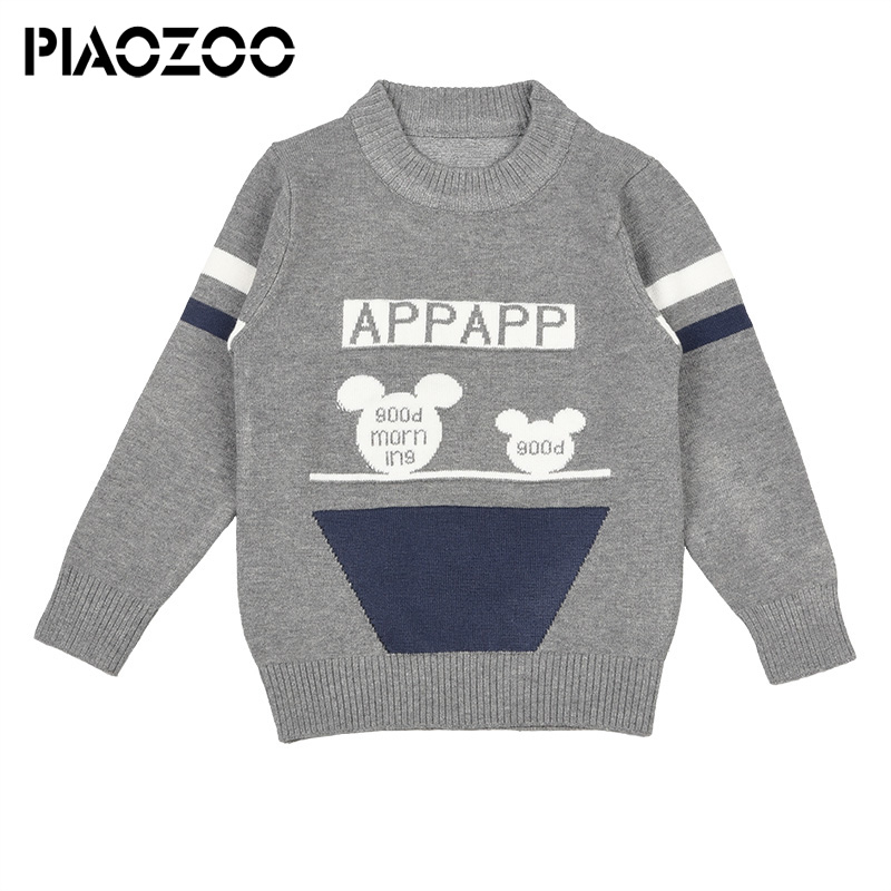 Tiny cottons 2018 winter warm boys sweaters kids pullover toddler sweater boys knitted sweater baby clothes kids knitwear P20 in Sweaters from Mother Kids