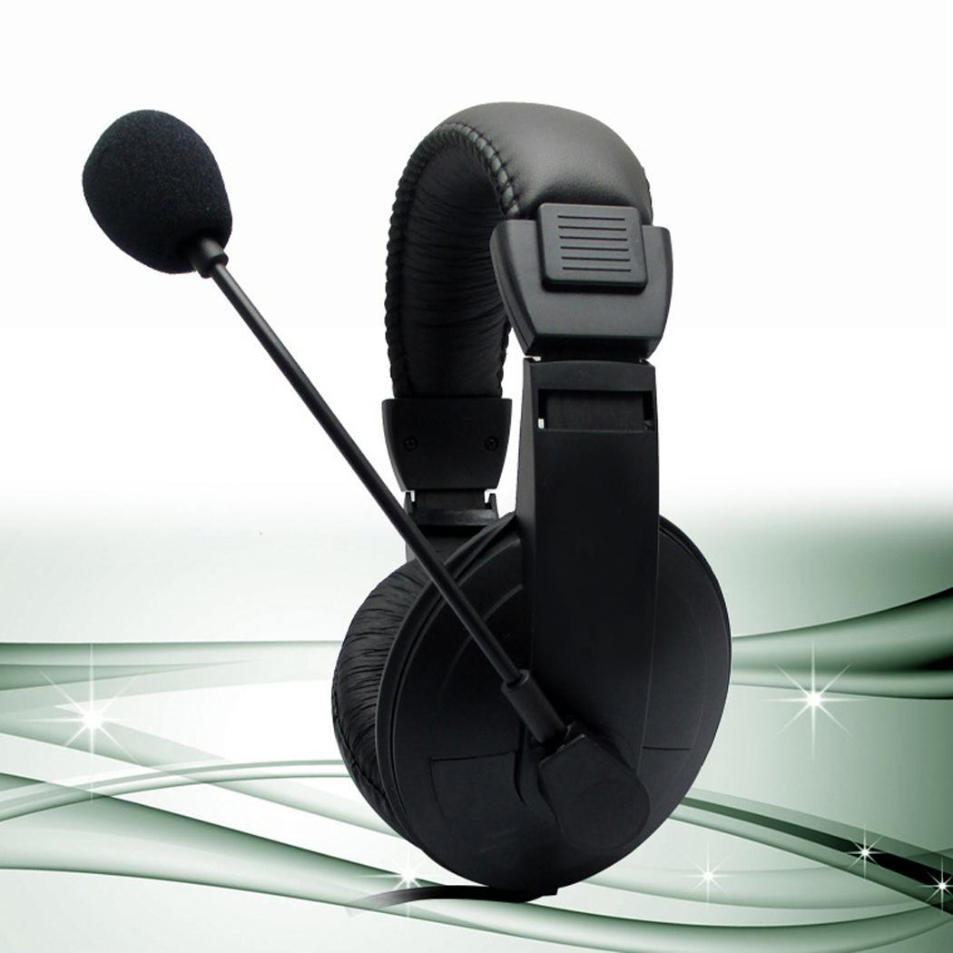 Wired Computer Gaming With Microphone Stereo 115dB Over Ears 20-20000Hz 40 mm 32 ohm Headphone Headband PVC