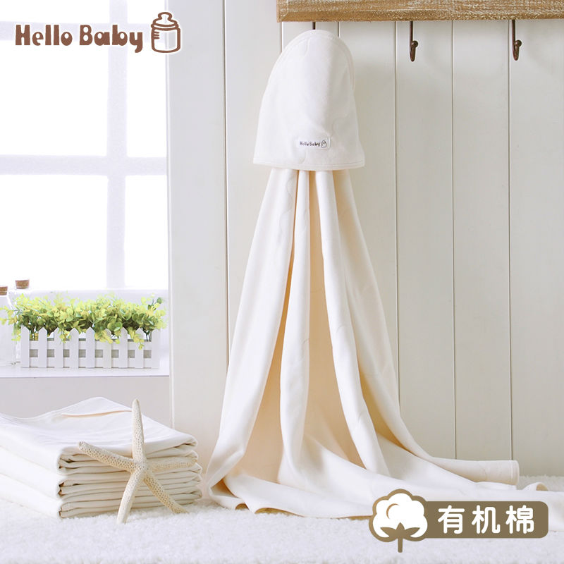 HelloBaby Organic cotton baby  autumn 100% Cotton Baby Blankets baby supplies  2014  new arrived new listing