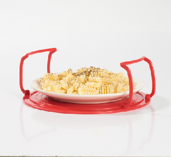 4 in 1 microwave plastic stand cooking ware
