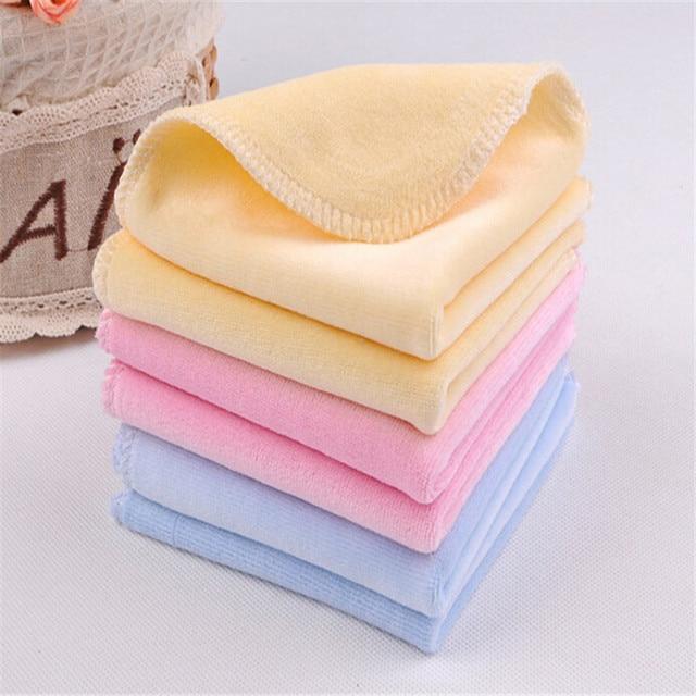 4pcs Lot Newborn Baby Towel Terry Handkerchief Towel Nursing Towel