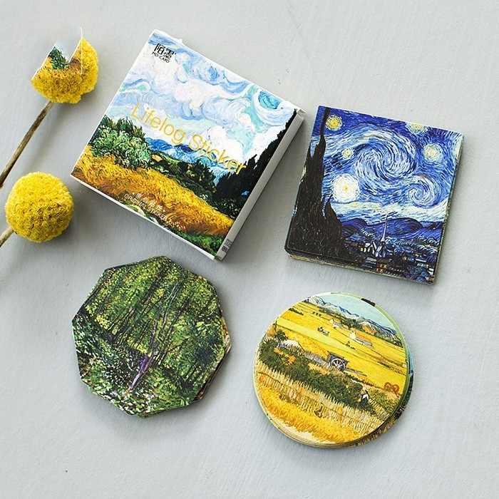 45 PCS/lot Meet Van Gogh Mini Paper Sticker Decoration Diy Album Diary Scrapbooking Label Sticker Kawaii Stationery