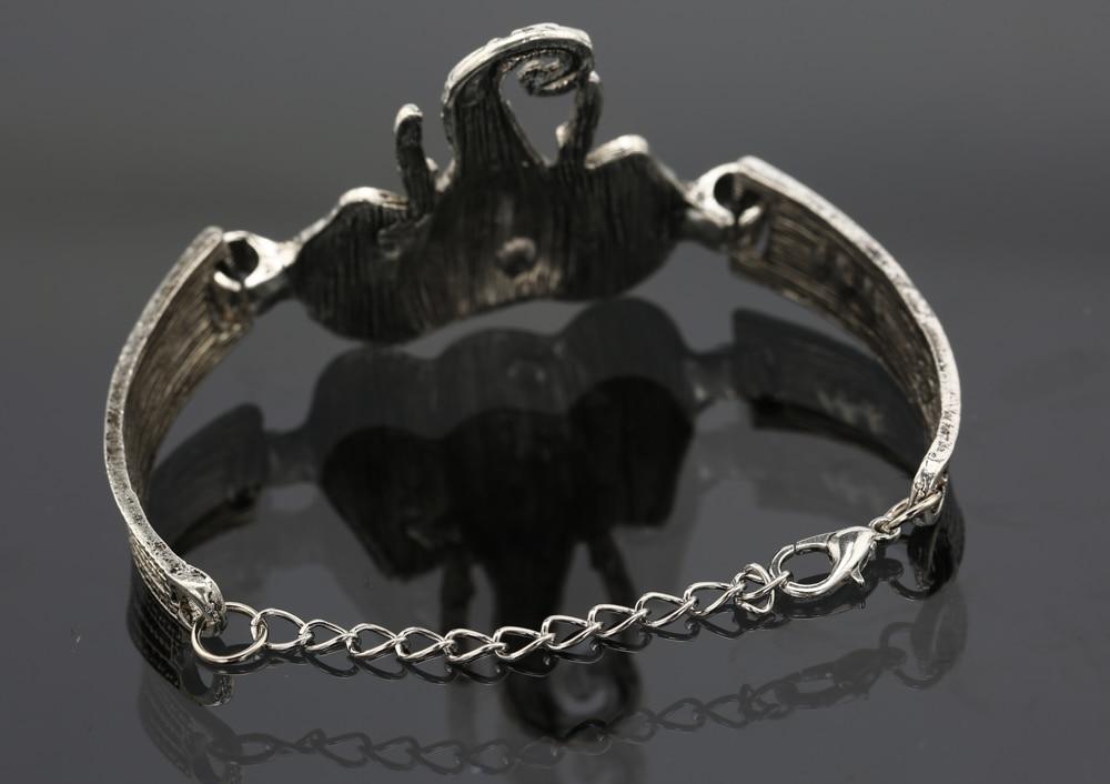 Heißer Verkauf Elefant Armband für Frauen Vintage Armbänder & - Modeschmuck - Foto 3