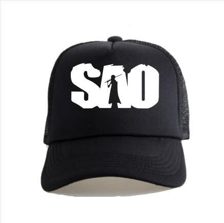 c6d46200d9e Anime sword art online Printing Cotton Sport Hat Sun Hat Baseball Cap  unisex Accessories Cosplay Hip-Hop Fashion Boy