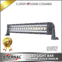 4pcs 21inch 90W LED Light Bar Truck Driving Headlight Farm Transport Led Tail Light Tractor Crane
