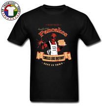 Superman Deadpool Cook Chef Funny T Shirts Deadlicious Pancakes Almighty Dead Pool Mens Cool Tshirts 100% Cotton Camisetas