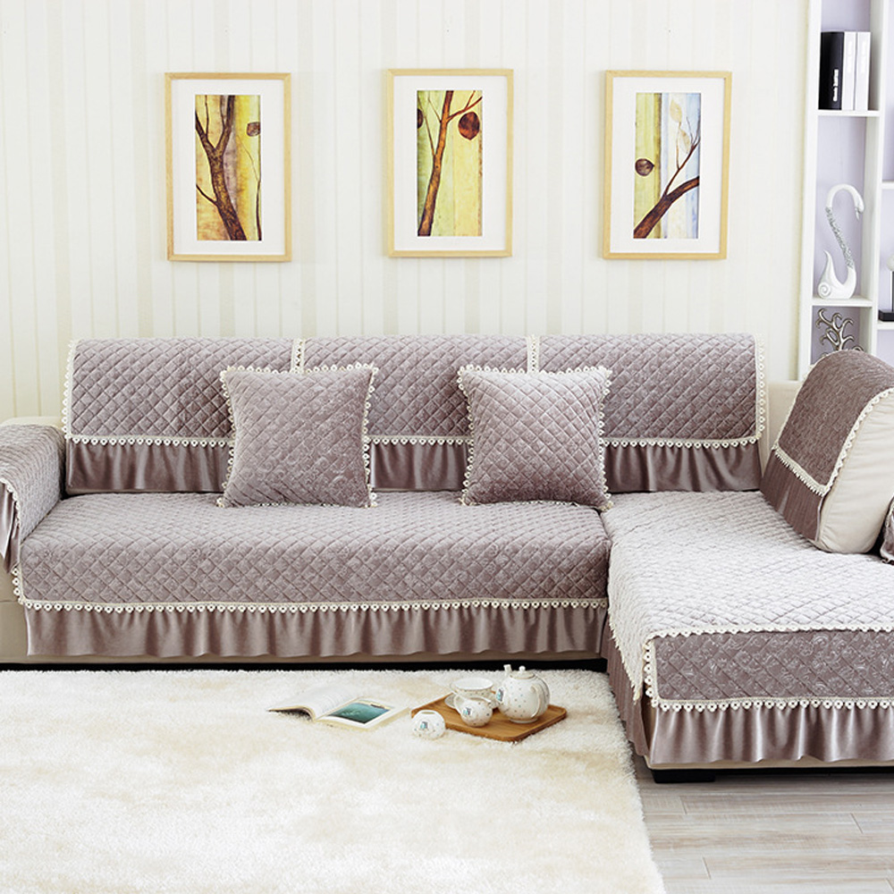 Solid Cotton Fabric Sofa Cover Korean Lace Vertical Design  : Solid Cotton Fabric Sofa Cover Korean Lace Vertical Design Slip Resistant Sofa Armrest Towel Four Seasons from www.aliexpress.com size 1000 x 1000 jpeg 352kB