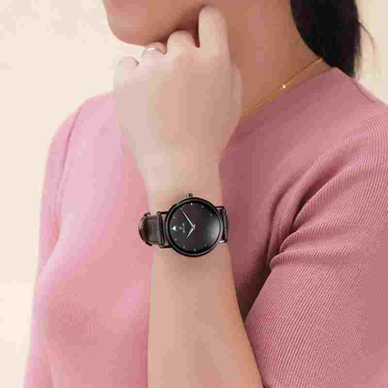 Women Leather Strap Geneva Watches for Women's Watch Casual Quartz Wristwatch Relojes Mujer