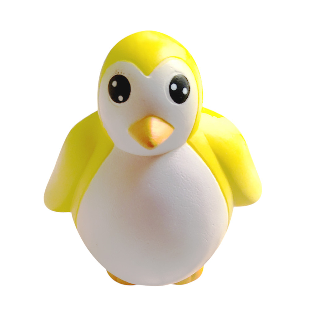 Adorable Simulated Animal Penguin Super Slow Rising Kids Toy Stress Reliever Toy Decor Relief Anxiety Slow Rebound Fun Kids
