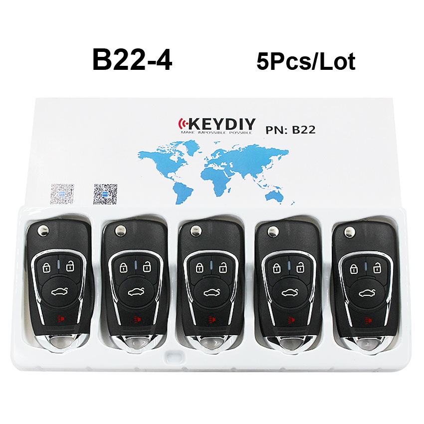 5Pcs Lot B22 4 B Series B22 3 1 B22 Universal 3 1 4 Button Remote
