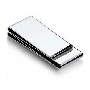 Brand Multifunction Stainless Steel Money Clip Slim Pocket Purse Cash Holder Card Organizer Men Women Wallet