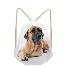 Anatolian Shepherd Dog Lover Custom Drawstring Bag for Girls Boys Women Backpack Men Travel Storage School Case Shoulder Bags