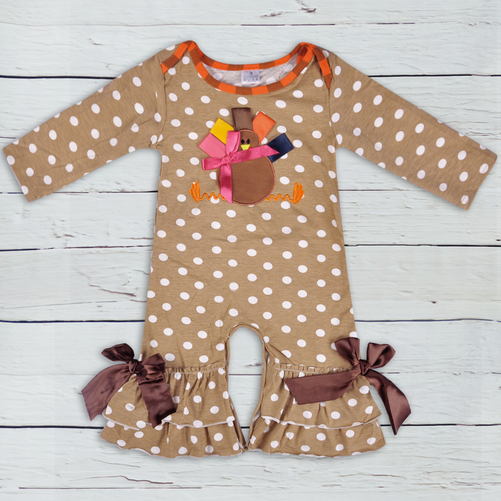 Thanksgiving Days Infant Clothing Baby Boy Girl Outfit