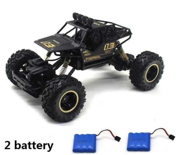 リモートコントロールカー 4WD 2.4 グラム rc の 2019 バージョンの高速オフロードトラッククライミングをボーイギフト用電源 x-mas のギフト