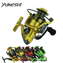 2019 13+1BB Spinning Fishing Reel Gear Ratio 5.5:1 1000-7000 Series Metal Front Drag Handle Spool Saltwater Fishing Accessories kastking kodiak saltwater spinning reel larger aluminum spool 18kg drag boat fishing reel with 11 ball bearings 5 2 1 gear ratio