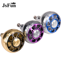 DIY CNC Machined Metal Handle Knobs Aluminium Alloy For S D A Baitcasting And Spining Reels