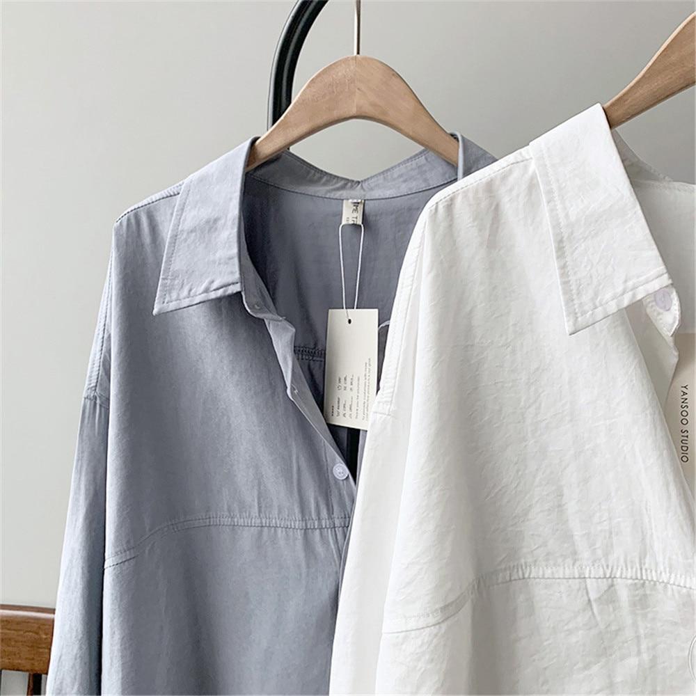 Vintage Women Blouse Shirts 2019 Autumn Korean Long Sleeve Women's Tops Blouses Blusas Roupa Feminina Tops High Quality Y6523 (29)