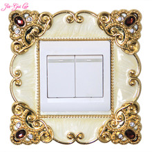 JIA-GUI LUO Creative European switch cover acrylic stickers decorative wall living room outlet L006