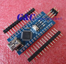 1pcs MINI USB Nano V3.0 ATmega328P CH340G 5V 16M Micro-controller(China (Mainland))
