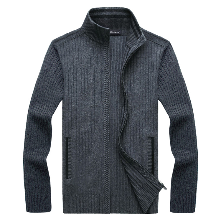 Mens 2019 Fashion Clothes Warm Full Sleeve Sweater Autumn Cardigan Male Sweaters Coat Knitwear For Man