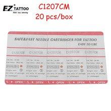 EZ Иглы Татуировки 7 Изогнутые Magnum Длинный Конус 20 Шт./кор. C1207CM