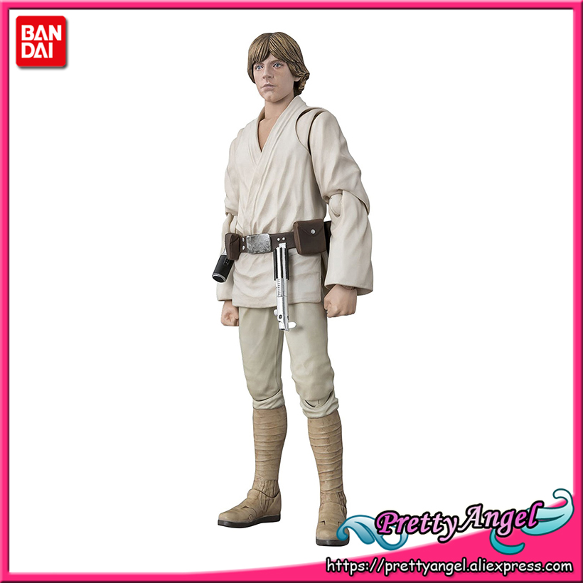 Genuine Bandai Tamashii Nations S.H.Figuarts Star Wars Episode II: Attack of the Clones Luke Skywalker A NEW HOPE Action Figure united nations the universal declaration of human rights
